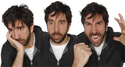 3 tváre Davida Schwimmera